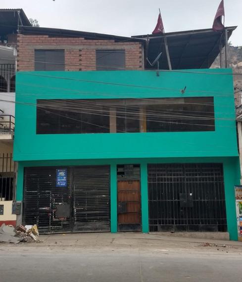 Casa Local Y Vivienda En Alquiler En Av. Principal