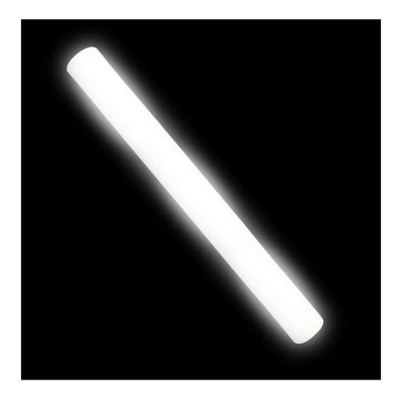 20 Barras Goma Espuma Luminosa Led Rompecocos Blancas