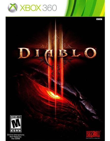 Diablo 3 - Xbox 360 - Original - Mídia Física - Novo