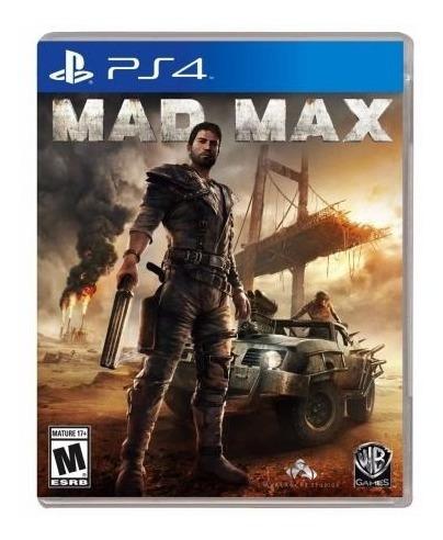Mad Max Ps4 Mídia Física (semi Novo)
