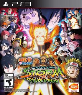 Naruto Shippuden: Ultimate Ninja Storm Revolutio Ps3 Digital