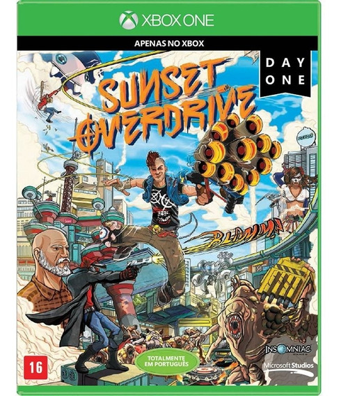 Sunset Overdrive - Xbox One ( Mídia Física ) Lacrado