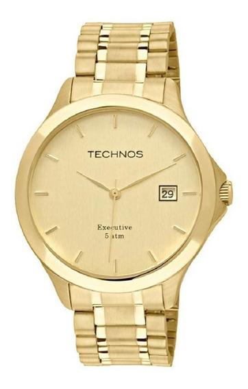 Relógio Technos Masculino Dourado Classic 1s13bwtdy/4x