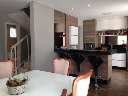 Imagem 1 de 22 de Sobrado Com 3 Dormitórios À Venda Com 286.89m² Por R$ 1.190.000,00 No Bairro Alto Da Rua Xv - Curitiba / Pr - Sob0096