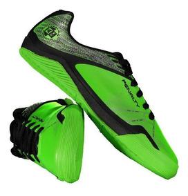 Chuteira Penalty Atf Storm Zon3 Vii Futsal Juvenil Verde