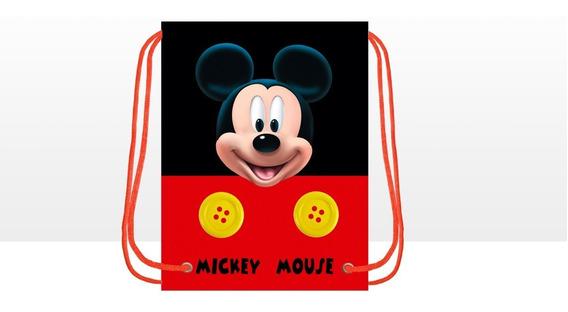 Morralitos Recuerdo Mickey-.- Minnie 21 Piezas-*