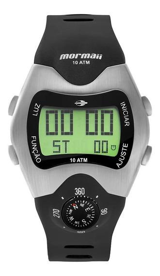 Relógio Mormaii Mo1324ab/1p Digital Prata Mo1324ab Bússola