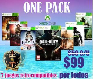 Paquete 7 Juegos Retrocompatibles Xbox One Online Originales