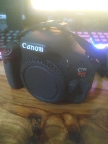 Canon T3i Com Lente 18-55mm, Carregador E Bolsa.
