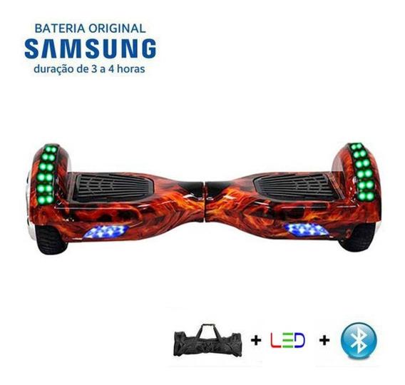 Hoverboard 6.5 Nf Bluetooth +led + Retire Loja Rj