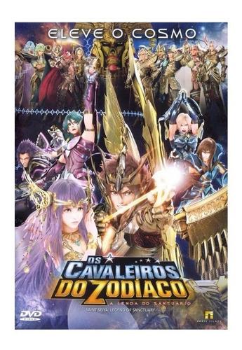 Dvd Os Cavaleiros Do Zodíaco A Lenda Do Santuário