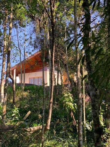 Casa 3 Quartos Campos Do Jordão - Sp - Alto Da Boa Vista - Cs-00600
