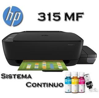 Impresora Hp Deskjet 315 Multifuncion Sist Continuo (z4b04a)