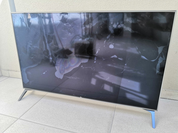 Smart Tv 4k LG 49 Polegadas Uj7500 (painel Quebrado)