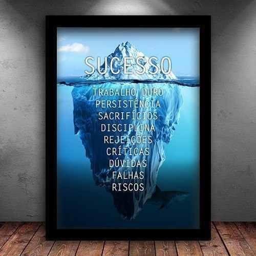 Poster Frases Motivacionais Quadros Decorativos No Mercado
