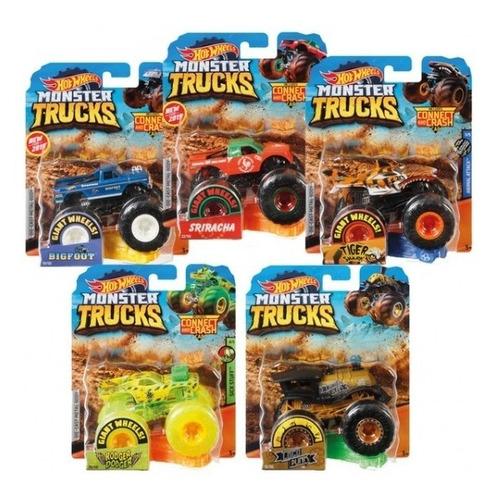 Hot Wheels - Monster Trucks Surtido Escala 1:64 Original