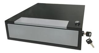 Caja Para Dinero Gaveta Registradora 4 Compartimientos Divisiones Con Secreter