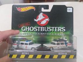 Ghostbusters Ecto 1 E Ecto 1a, 2015, Hot Wheels Esc 1/64