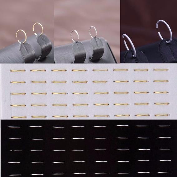 Piercing De Nariz - 40 Peças - Banho A Ouro 18k - Ref: 386