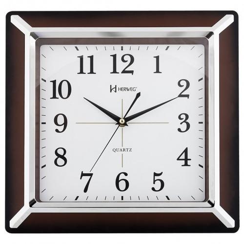 Imagem 1 de 1 de Relógio De Parede Herweg 6268 Frete Grátis