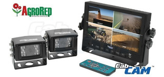 Camara Con Monitor Para Tractor, Cosechadora, Etc - Agrorep
