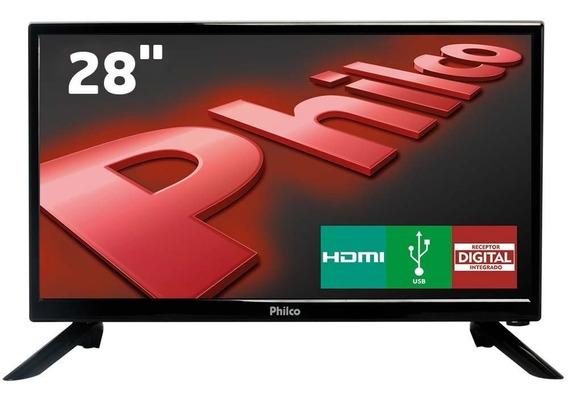 Tv Led 28 Philco Conversor Digital Integrado Hdmi Usb