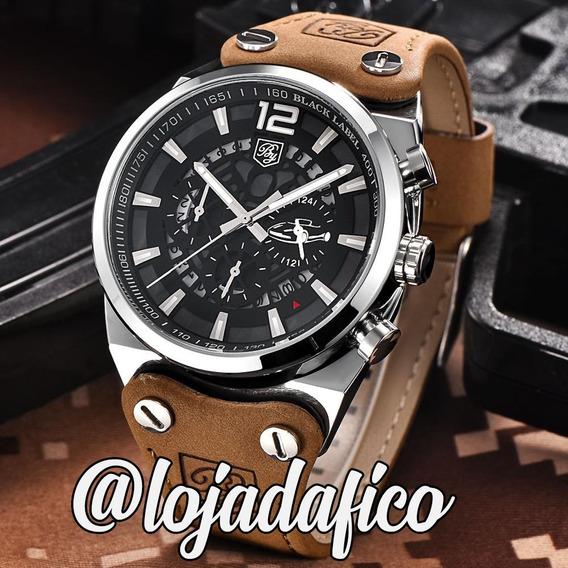 Relógio Masculino Importado Original Analógico Luxo Benyar