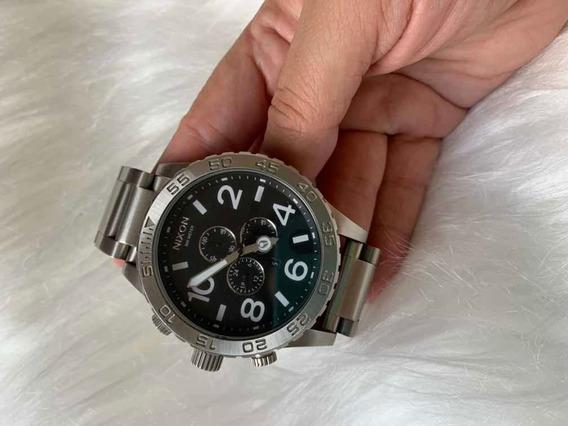 Relógio,nixon , Cromado 51-30 Chrono