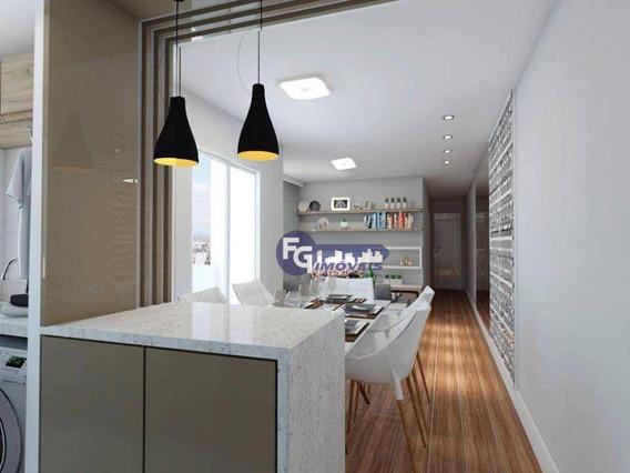 Apartamento Garden Com 2 Dormitórios À Venda, 87 M² Por R$ 246.200,00 - Novo Mundo - Curitiba/pr - Gd0071