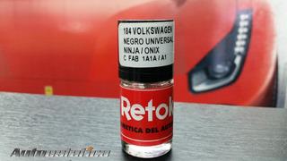 Retok Pintura Volkswagen Negro Universal Ninja Onix 1a1a A1