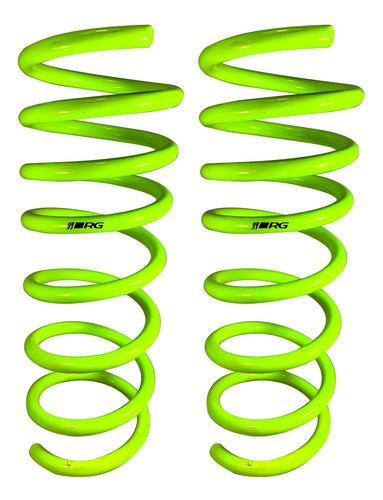Espirales Progresivos Traseros Vw Bora Rg Sportkit Kit X2
