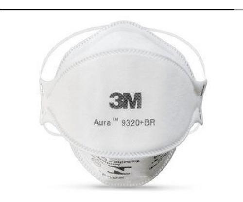 Kit 10 Mascara 3m  Aura 9320 Pff2 - N95 S/ Válvula  Proteção