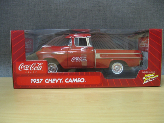 Mini Pickup Chevrolet Chevy Cameo 1957 Coca Cola 1:18