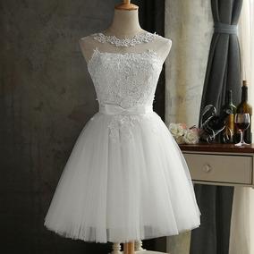 Vestidos de fiesta blancos dama