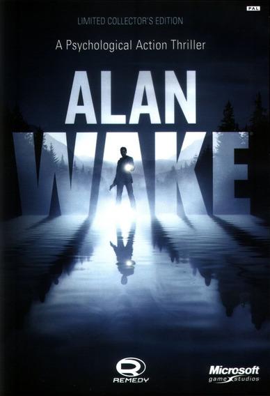 Alan Wake Collector Edition Pc - Steam Key (envio Rápido)