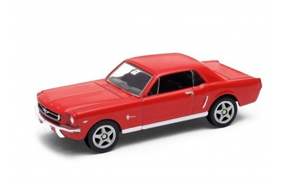 Welly Ford Mustang Coupe 1964-1/2 Esc. 1/60 Rosario