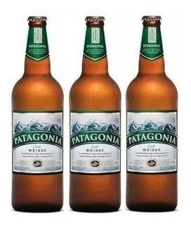 Patagonia Weisse Cerveja Artesanal 740ml 6un Frete Grátis