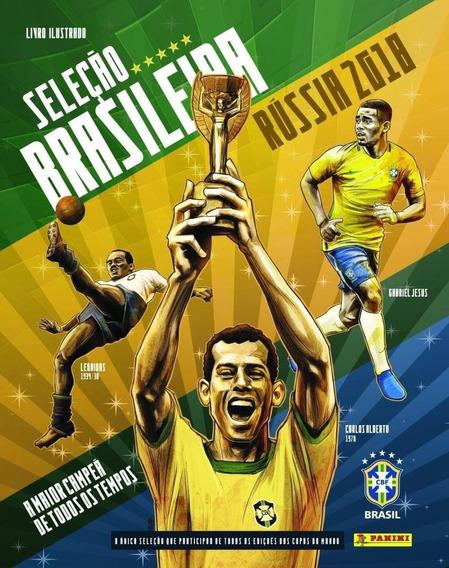 Álbum De Figurinhas Seleção Brasileira Rússia 2018