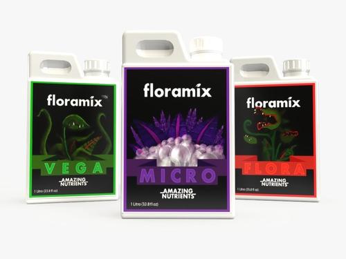 Pack Veg Micro Flora 3x1l Hidroponia Tipo Advanced Nutrients