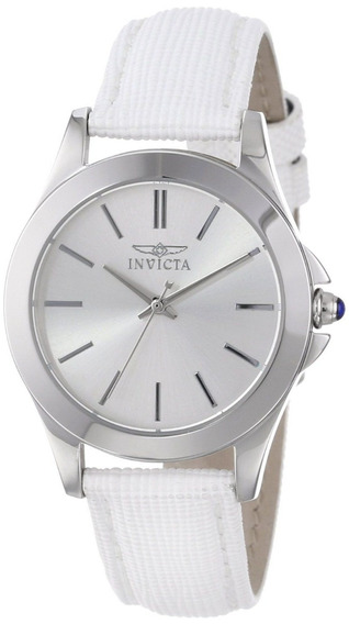 Reloj Invicta 15147 Series Angel Original Blanco Para Dama