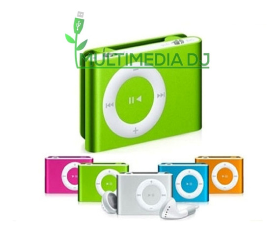 Mp3 Reproductor Shuffle Audifono Cable + Usb Deportivo Mdj