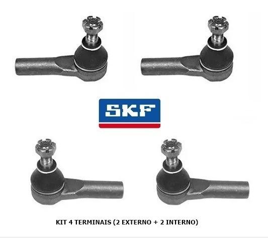 Kit 4 Terminal Direção Nissan Frontier Xterra 98\08 Skf
