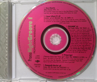 Cd Promo Night Groove 1