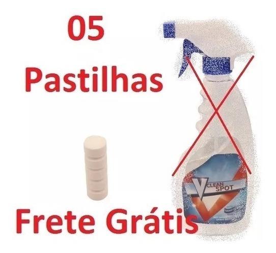 05 Pastilhas Multifuncional Efervescente Frete Grátis