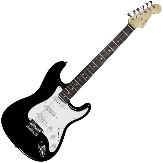 Guitarra Squier Black Fender Stratocaster Mainstream 506