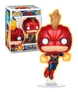 Funko Pop Marvel Capitana Marvel Exclusivo 433