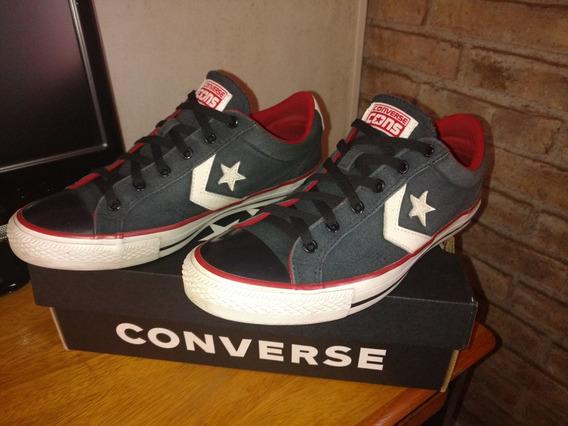 Zapatillas Converse Star Player Negro/rojo Nro. 43