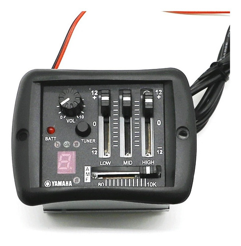 Imagem 1 de 10 de Captador Yamaha -  Equalizador, Afinador - Violão Apx, Cpx
