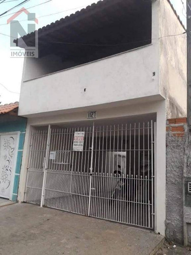 Casa Com 2 Dormitórios À Venda Por R$ 290.000,00 - Parque Maria Helena - Suzano/sp - Ca0051