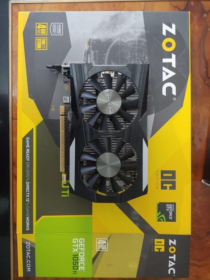Placa De Video Geforce Gtx 1050ti 4gb Oc
